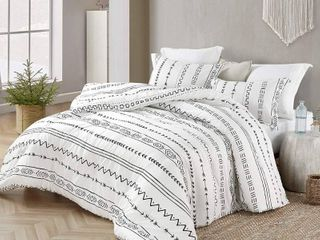 Arrow Black and White Comforter   100  Cotton twin