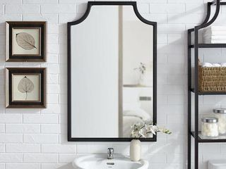 Aimee Wall Mirror Oil Rubbed Bronze   Crosley