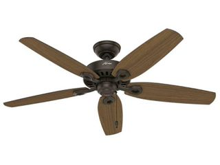 Hunter 52  Builder New Bronze Ceiling Fan with Pull Chain