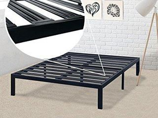 Best Price Mattress Model E Heavy Duty Steel Slat Platform Bed