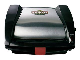Johnsonville Dishwasher Safe Black Stainless Steel Sausage Grill