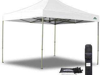 Caravan Canopy TOP 21003306011 10 X 10 Foot Straight leg Display Shade Commercial  White Canopy  10 by 10 TOP ONlY