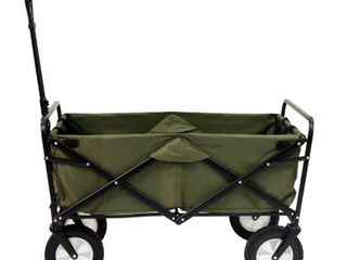 Mac Sports Folding Wagon   Green