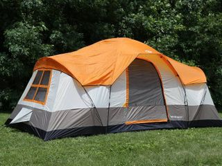 Tahoe Gear Olympia 10 Person 3 Season Tent  Orange Ivory   TGT OlYMPIA 10 B