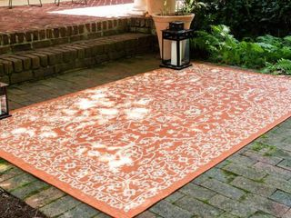 5  x 8  Outdoor Botanical Rug