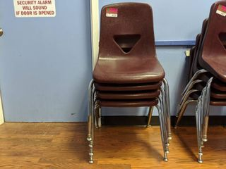 4  Stacking Chairs