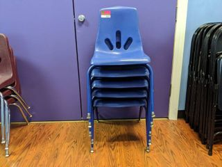 5  Stacking Chairs