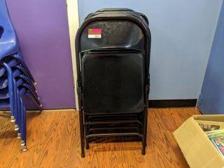 10  Folding Chairs