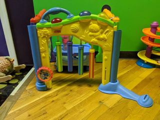 Fisher Price Discovery Center And Small Feeding Seat
