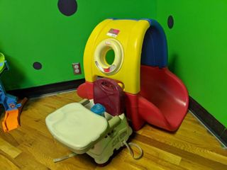 little Tykes Toy And Fisher Price Feeding Seat