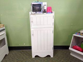 Miniature Refrigerator  Toaster  And Microwave