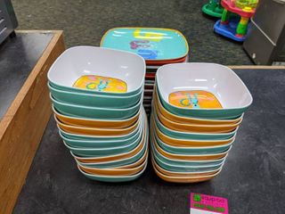 Assorted Plates And Bowls