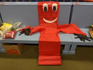 Inflatable Tube Monster