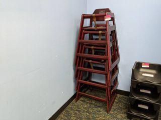 (4) Winco Highchairs