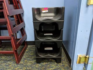 (3) Cambro Booster Chairs