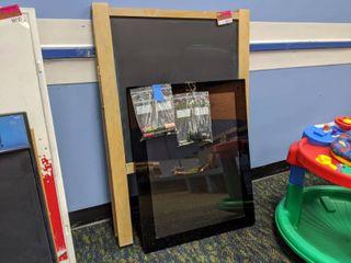 Chalk Board And Luma Vue LED Marker Board 10046