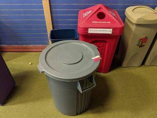 3  Trash Cans