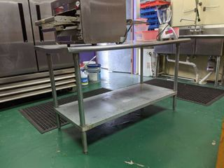 Advance Tabco Stainless Steel Prep Table