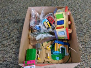 Wooden Trains And Toys