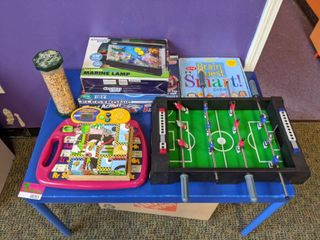Table And Assorted Games