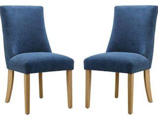 Ravenna lamberton Curved Back Dining Chair Set of 2