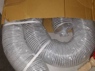 POWERTEC 70266 PVC Dust collection hose