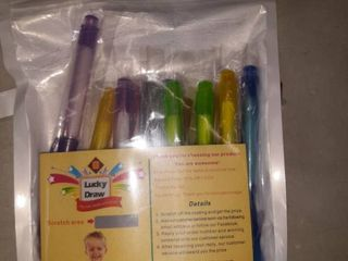 lucky draw multipack of kid s pens