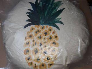 Circular Pineapple Decorative Cushion