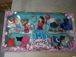Funville Sparkel Girlz Doll Ballerina Dress Up