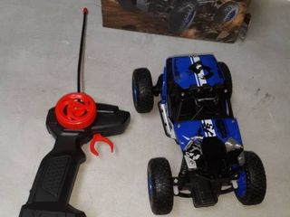 Off Road Crawler remote control car in blue