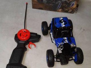 Off Road Crawler remote control car in blue