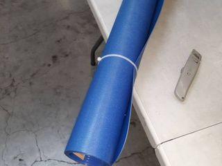 Blue hard floor chair mat