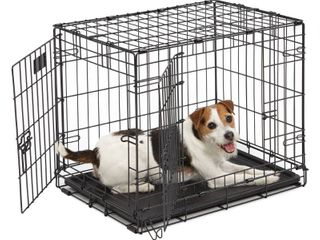Midwest 1524DD 24 By 18 By 19 Inch iCrate Double Door Pet Crate