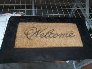 Horse Engraved Welcome Mat