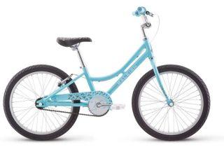 Raleigh Bikes Jazzi Kids Bike 20  For Girls Youth 4 8 Years   Blue Brand