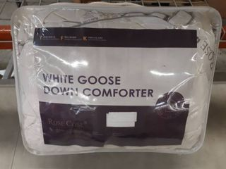 King Size White Goose Down Comforter
