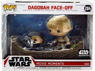 Funko POP  Star Wars Dagobah Face Off Vinyl Figure  Movie Moments