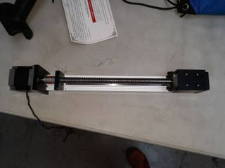 FlS40 Series ball screw driven linear motion actuator