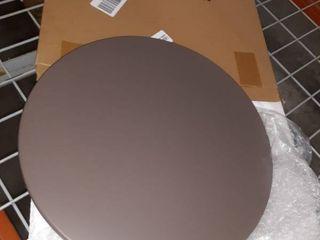 Grey circular lid 16 inch diameter