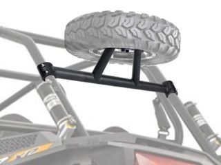 RZR Spare Tire Carrier XP 1000 Spare Tire for Polaris RZR XP 1000 XP4 Spare tire carrier by KEMIMOTO  up to 30 inch tire
