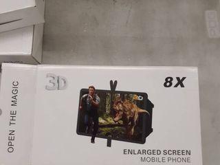 Enlarged Screen Mobile Phone