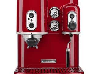 KitchenAid KES2102ER Pro line Series Espresso Maker with Dual Independent Boilers  Empire Red