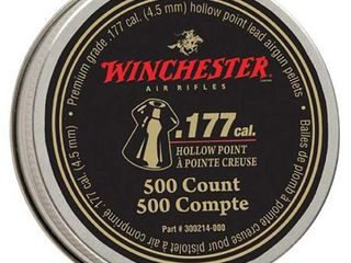 Winchester By Daisy Win 500 Ct  177 Hollow Point Pellets