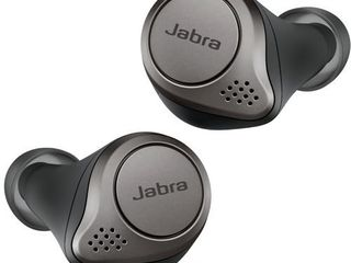 Jabra Elite 75t Earbuds a True Wireless Earbuds with Charging Case  Titanium Black a Bluetooth Earbuds with a More Comfortable  Secure Fit  long Battery life and Great Sound Quality