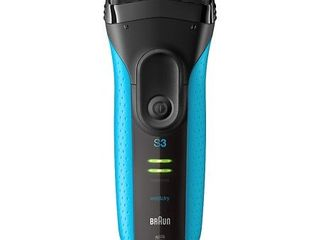 Braun Electric Razor for Men  Series 3 3040s Electric Shaver with Precision Trimmer  Rechargeable  Wet   Dry Foil Shaver