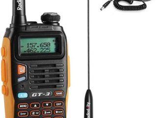 Baofeng Pofung GT 3TP Mark III Two Way Radio Transceiver  Dual Band 136 174 400 520 MHz Power Two Way Radio black
