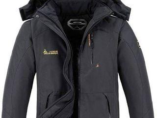 MOERDENG Men s Waterproof Ski Jacket Warm Winter Snow Coat Mountain Windbreaker Hooded Raincoat Snowboarding Jackets
