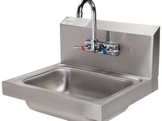 Advance Tabco 7 PS 60 Hand Sink with Splash Mount Faucet   17 1 4  x 15 1 4