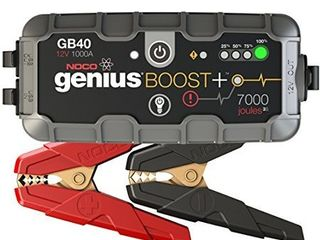 NOCO Boost Plus GB40 1000 Amp 12 Volt Ultra Safe Portable lithium Car Battery Jump Starter Pack For Up To 6 liter Gasoline And 3 liter Diesel Engines