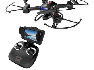 Holy Stone F181G Drone with Camera 5 8G FPV live Video for Kids Beginners Adults Quadcopter with HD lCD Transmitter  RC Helicopter Airplane with Altitude Hold 3D Flip Headless Mode  Modular Battery